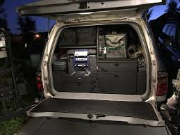 overland jeep setup really nice drawer system overland bound community