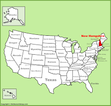 Map Of Salem Oregon by New Hampshire State Maps Usa Maps Of New Hampshire Nh