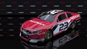 nissan maxima race car artstation nascar cup series nissan maxima brandon murphy