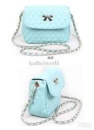 light blue crossbody purse sale super cute fashion chain bag 100 leather crossbody bags