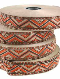 aztec ribbon ribbons up to 40mm buy fabric discount fabric fabric knitted