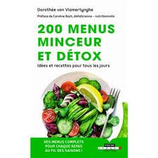 livre de cuisine pour tous les jours 200 menus minceur et détox idées et recettes pour tous les jours