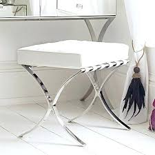 Vanity Stools For Bathrooms Vanity Stools Impressive Benches Photos Design Pertaining To