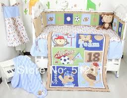 sports bedding sets sports baby crib bedding set 8 pieces
