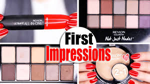 new revlon makeup first impressions youtube