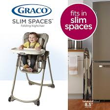 How To Fold A Graco High Chair Graco Baby Slim Spaces Highchair