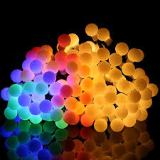 led color changing globe string lights with remote ball fairy lights omgai 17ft 60 led waterproof color changing globe