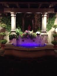 water fountain with lights illuminated color changing led outdoor water feature sestak