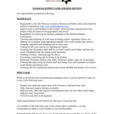 resume example pastry chef resume samples sous examples entry