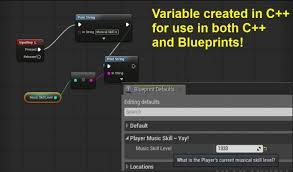 create blueprints blueprints creating variables in c for use in bp epic wiki