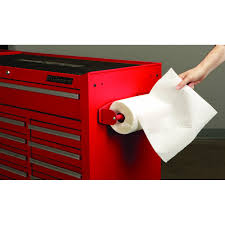 105 pc tool kit with 4 drawer chest paper towel holders towel