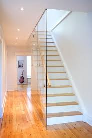 Wood Glass Stairs Design 20 Glass Staircase Wall Designs With A Graceful Impact On The