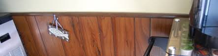 wood paneling chair rail home decorating interior design bath