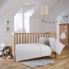 Cot Bedding Set Lullaby Hearts Cot Cot Bed Quilt Bumper Bedding Set