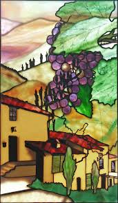 Tuscan Style Kitchen Tuscany By Robert Oddy Robert Oddy Stained Glass Artist