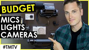 budget low light camera best cheap microphones lighting and low budget cameras for youtube