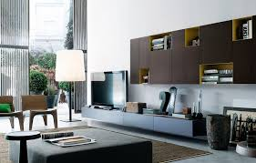 lighting oversized floor lamp and floating cabinet for modern