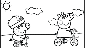 peppa pig valentines coloring pages peppa pig coloring pages on book info with decor 9 24itv info