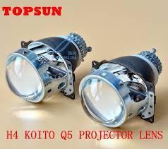 3 inch fog light kit gztophid 3 inches koito q5 h4 bi xenon projector lens for car