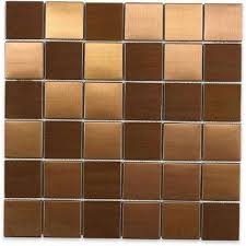 metallic tiles backsplash metal tile tile the home depot