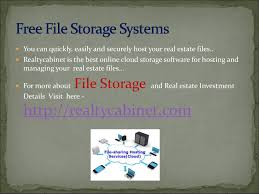 realty cabinet is the best online file storage and sharing