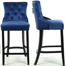 Leather Bar Stool With Back Bar Stool Blue Leather Swivel Bar Stools Everitt Blue Leather