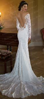 backless lace wedding dresses turmec sleeve backless lace wedding dresses