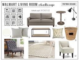 walmart living room design challenge budget room makeover