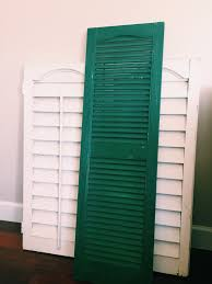 use an old shutter for a table runner hometalk