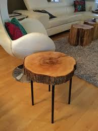 wood table with metal legs salvaged wood and metal side table