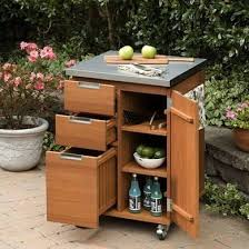 Serving Station Patio Cabinet Outdoor Storage Solutions 10 Picks For Your Deck Porch Or