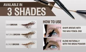 maybelline fashion brow duo shaper natural brown lazada ph