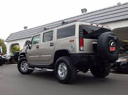 2005 used hummer h2 w luxury package meticulous new tires