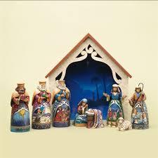 9 mini nativity figurine jim shore heartwood creek