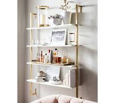 Bathroom Wall Mounted Shelves Wall Mounted Shelves Pottery Barn