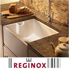 Reginox Belfast Mm  Bowl Ceramic Kitchen Sink  Waste In - Belfast kitchen sink