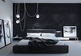Hanging Lights For Bedroom by 40 Beautiful Black U0026 White Bedroom Designs