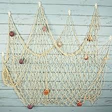 net decor bilipala mediterranean fishing net decoration fish