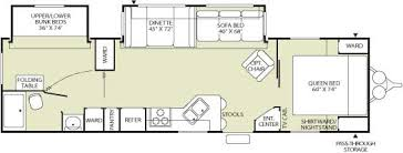 Fleetwood 5th Wheel Floor Plans Used 2006 Fleetwood Rv Wilderness 3102bds Travel Trailer At