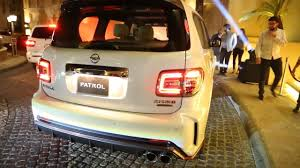 nissan patrol nismo engine nissan debuts nismo tuned patrol suv in dubai pakwheels blog