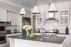 Kitchen With White Cabinets Kitchen Cabinets With Concrete Countertops Design Ideas