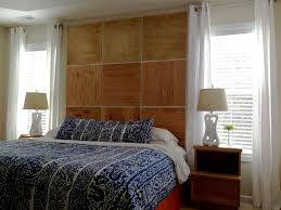 how to build a bed headboard apartment