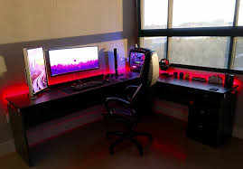 how to cable manage a desk setup guide futuristic red