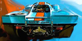 porsche 917 1970 no 2 gulf porsche 917 john krsteski