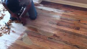 scraped wood floors