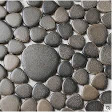 cobblestone design balcony floor tile size 300x300mm on aliexpress