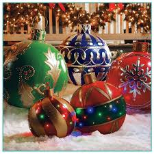 oversized christmas christmas tree ornaments