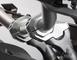 sw motech barback riser kit to fit 28mm handlebars for ktm 950