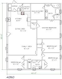 17 best ideas about metal house plans on pinterest open ranch house plans 40x50 home pattern