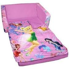 Sesame Street Flip Open Sofa by Tinkerbell Flip Out Sofa With Sleeping Bag Sofa Nrtradiant